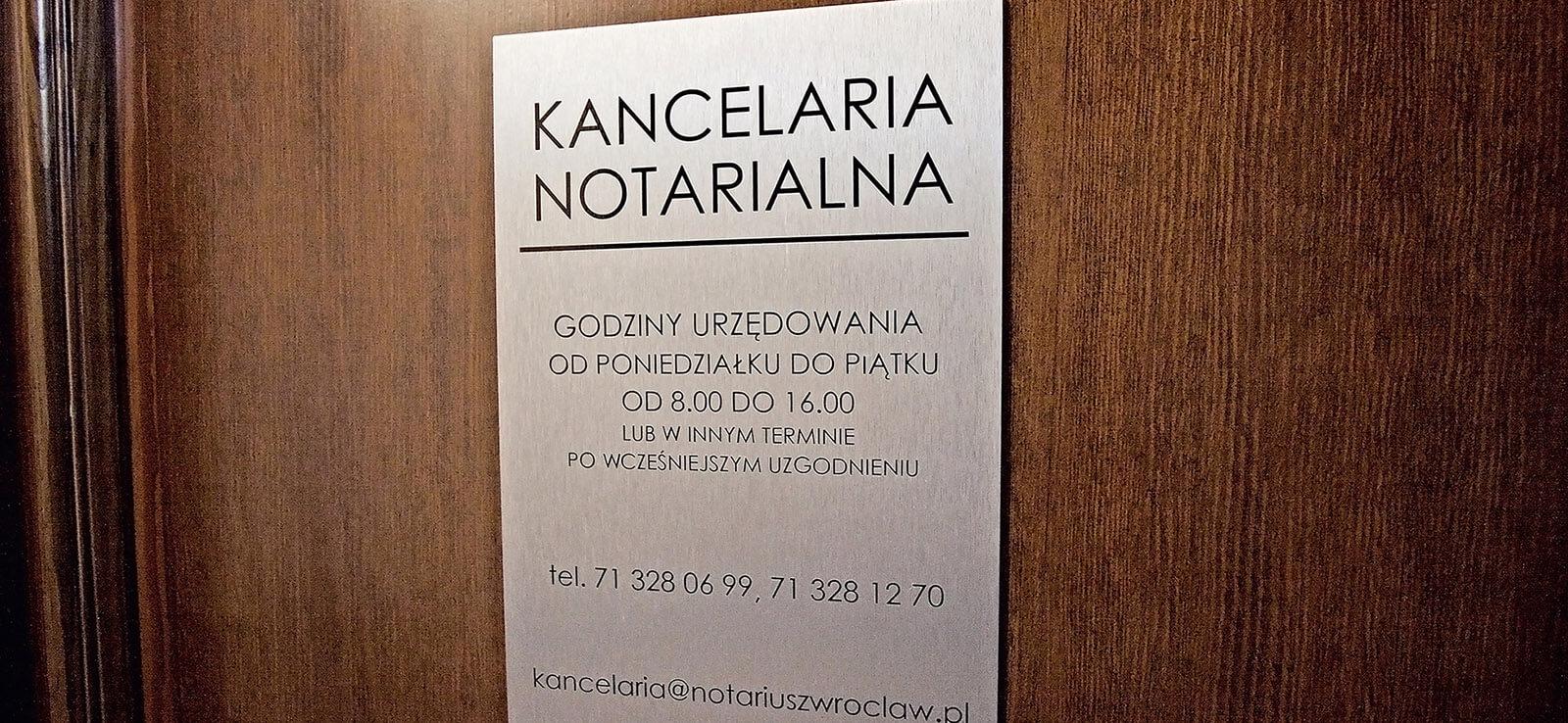 Kancelaria Notarialna Sylwia Marszałkowska